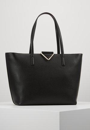 VEKTOR TOTE - Shopping bag - black/gold-coloured