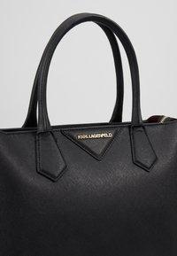 KARL LAGERFELD - KLASSIK  - Handbag - black - 6