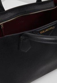 KARL LAGERFELD - KLASSIK  - Handbag - black - 4