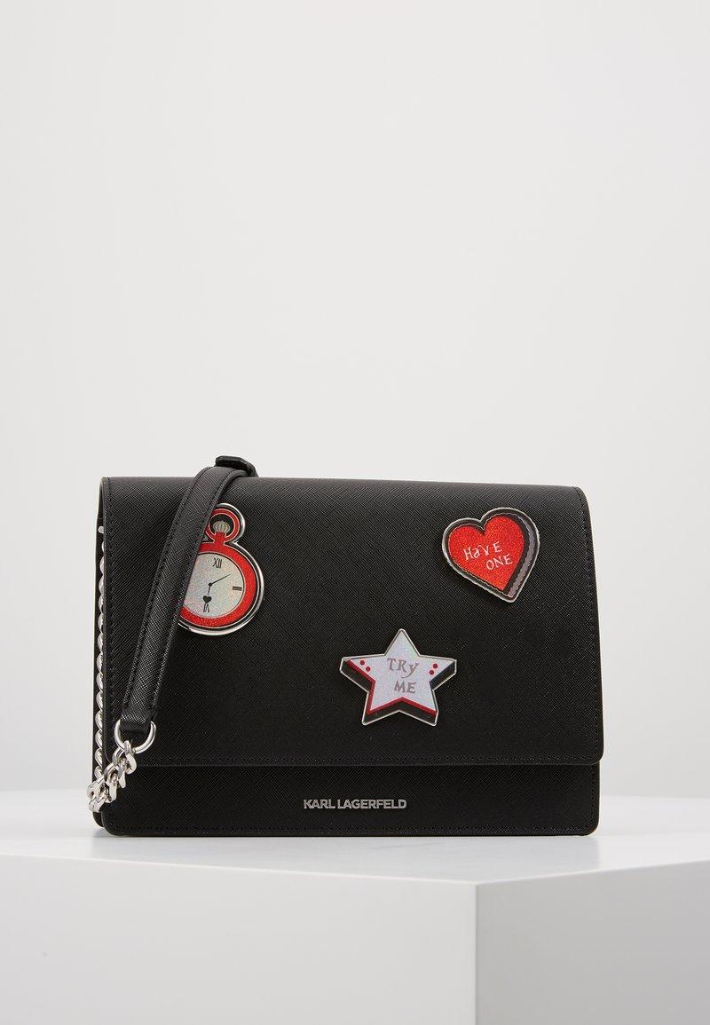 KARL LAGERFELD - TRY ME SHOULDER BAG - Handbag - black