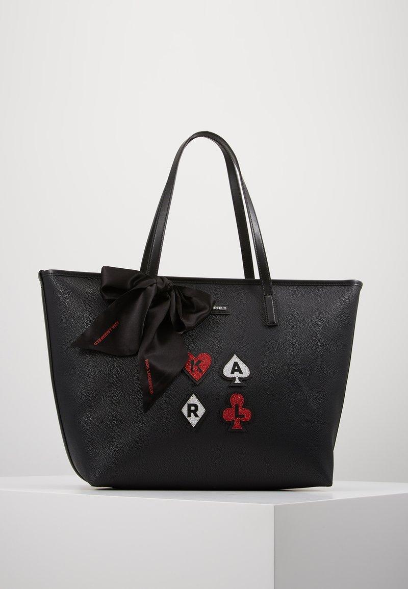KARL LAGERFELD - SHOPPER - Shoppingveske - black