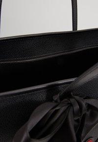 KARL LAGERFELD - SHOPPER - Bolso shopping - black - 4