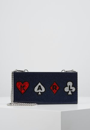 PLAYING CARDS MINAUDIERE - Clutch - multi