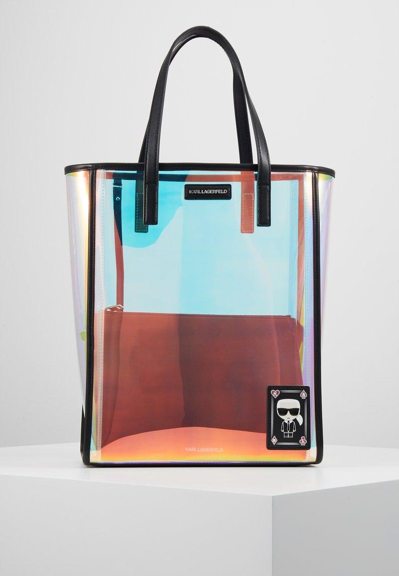 KARL LAGERFELD - FUN IRIDESCENT - Shopper - transparent