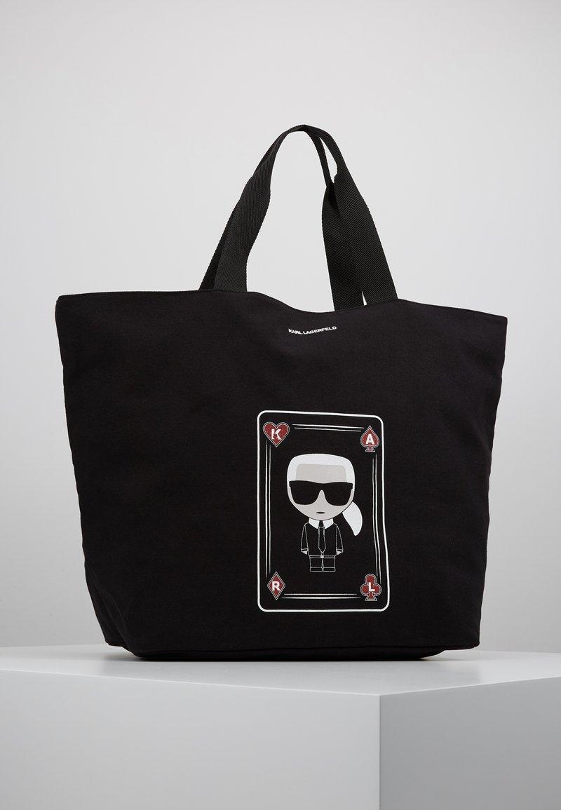 KARL LAGERFELD - SHOPPER - Shoppingväska - black