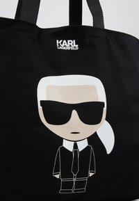 KARL LAGERFELD - Torba na zakupy - black - 6