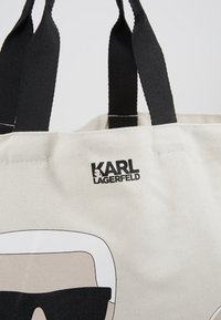 KARL LAGERFELD - CHOUPETTE - Velká kabelka - natural - 6