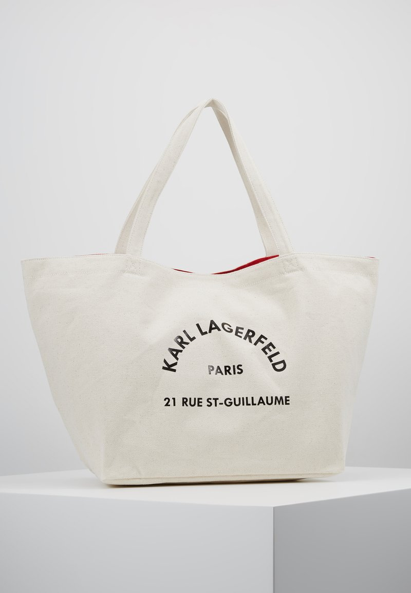 KARL LAGERFELD - RUE ST GUILLAUME TOTE - Shopping Bag - natural