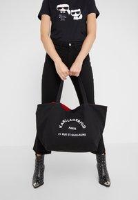 KARL LAGERFELD - RUE ST GUILLAUME TOTE - Shopper - black - 1