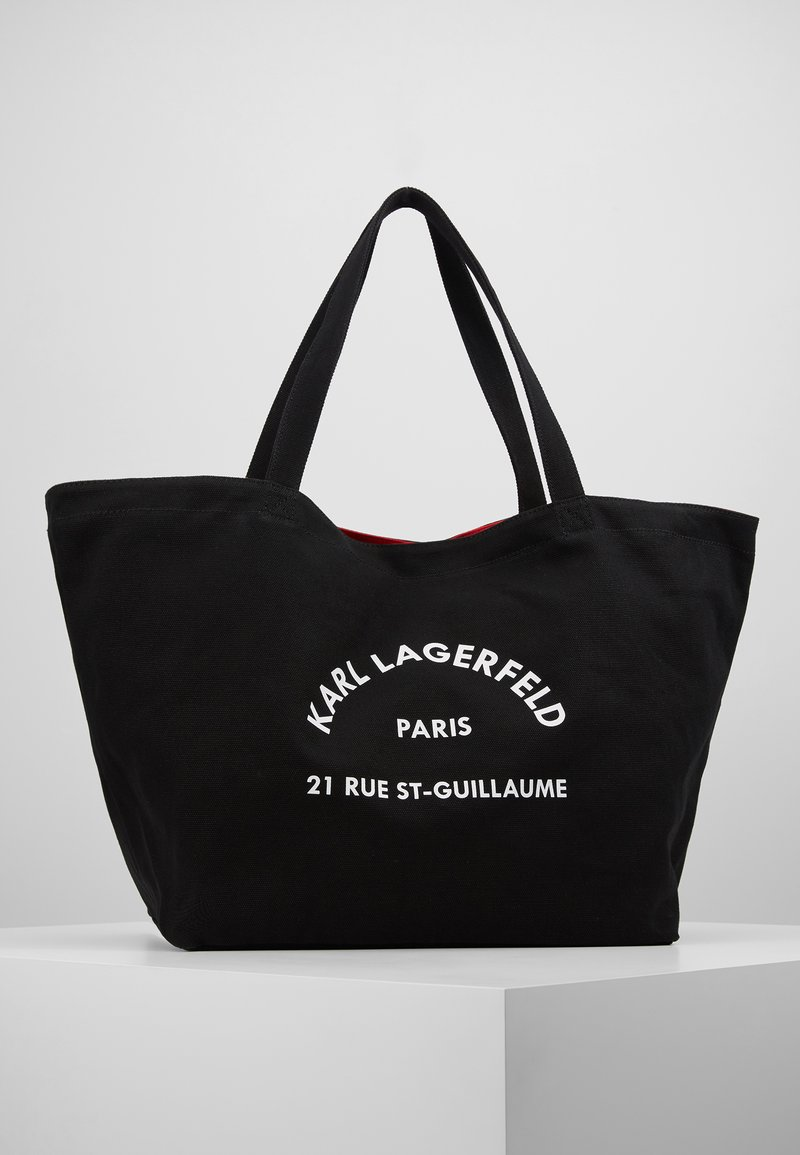 KARL LAGERFELD - RUE ST GUILLAUME TOTE - Shopping bags - black