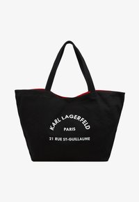 KARL LAGERFELD - RUE ST GUILLAUME TOTE - Cabas - black - 5