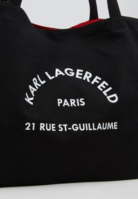 KARL LAGERFELD - RUE ST GUILLAUME TOTE - Cabas - black - 6