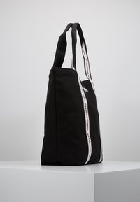 KARL LAGERFELD - KARL WEBBING SHOPPER - Shopping bags - black - 3