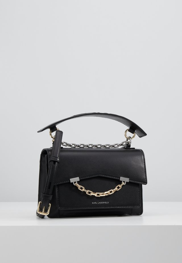 SEVEN SHOULDERBAG - Umhängetasche - black