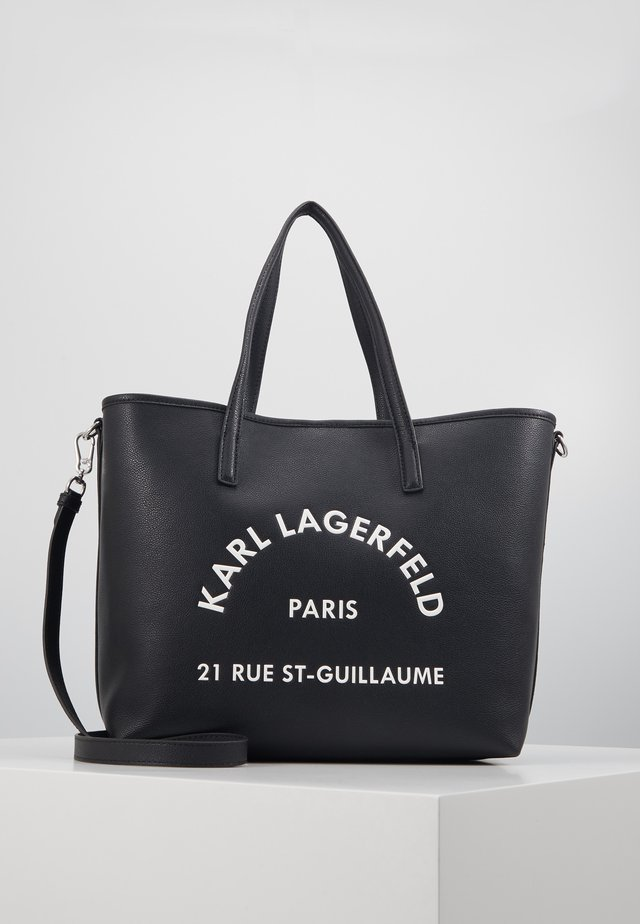 RUE GUILLAUME TOTE - Bolso shopping - black