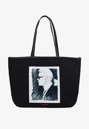 LEGEND TOTE - Shopping bags - black