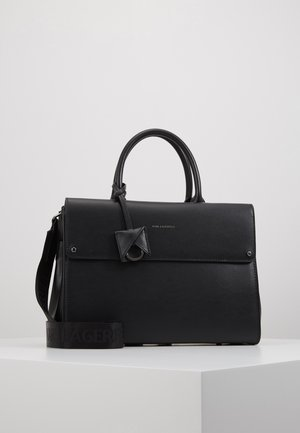 CARINE IKON TOTE - Across body bag - black