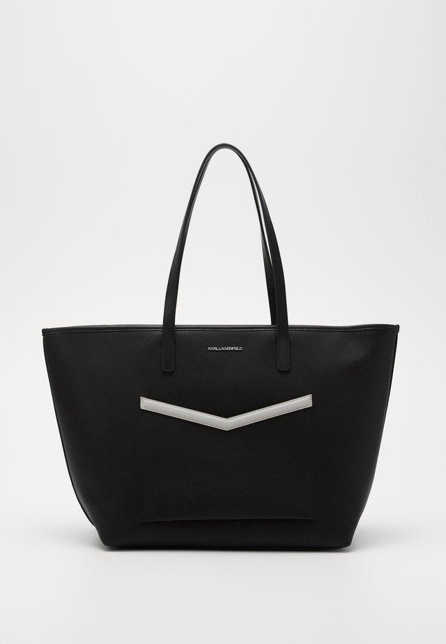 MAU SHOULDER BAG - Käsilaukku - black