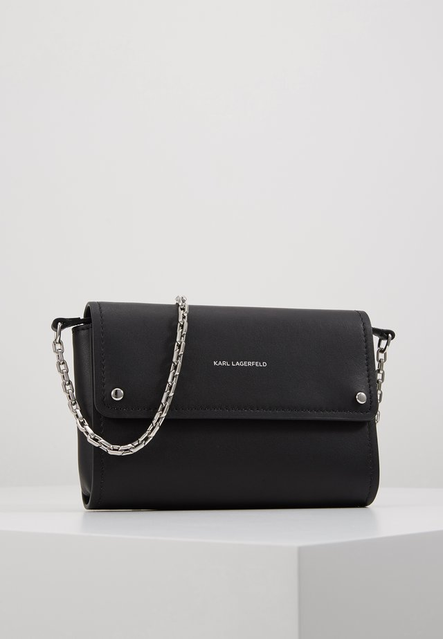 IKON POCHETTE ON CHAIN - Geldbörse - black
