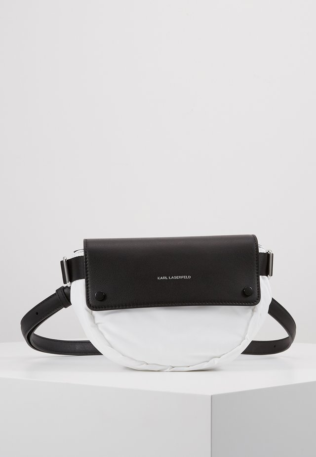 IKON BELT BAG - Ledvinka - white