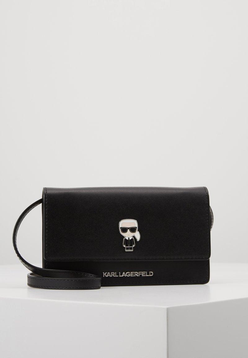 KARL LAGERFELD - IKONIK PIN WOC - Across body bag - black