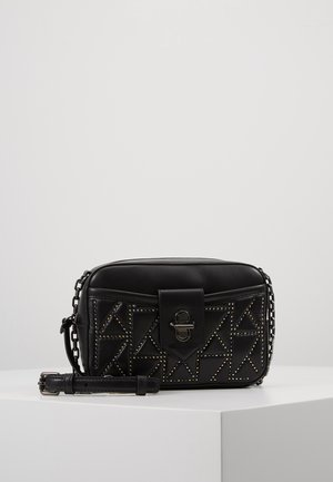 STUDIO STUDS CAMERA BAG - Sac bandoulière - black/multi