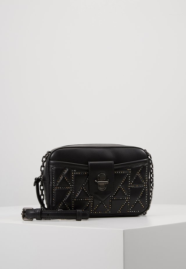 STUDIO STUDS CAMERA BAG - Axelremsväska - black/multi
