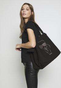KARL LAGERFELD - SHOPPER - Tote bag - black - 4