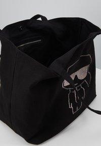 KARL LAGERFELD - SHOPPER - Tote bag - black - 6