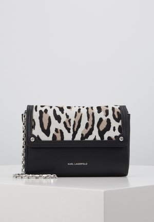 IKON LEO POCHETTE ON CHAIN SET - Portefeuille - white