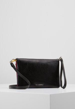 BAUHAUS SHOULDER POUCH - Across body bag - black