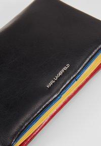 KARL LAGERFELD - BAUHAUS SHOULDER POUCH - Across body bag - black - 2