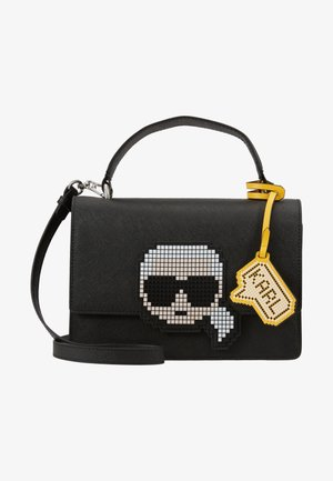 K/PIXEL TOP HANDLE - Handbag - black