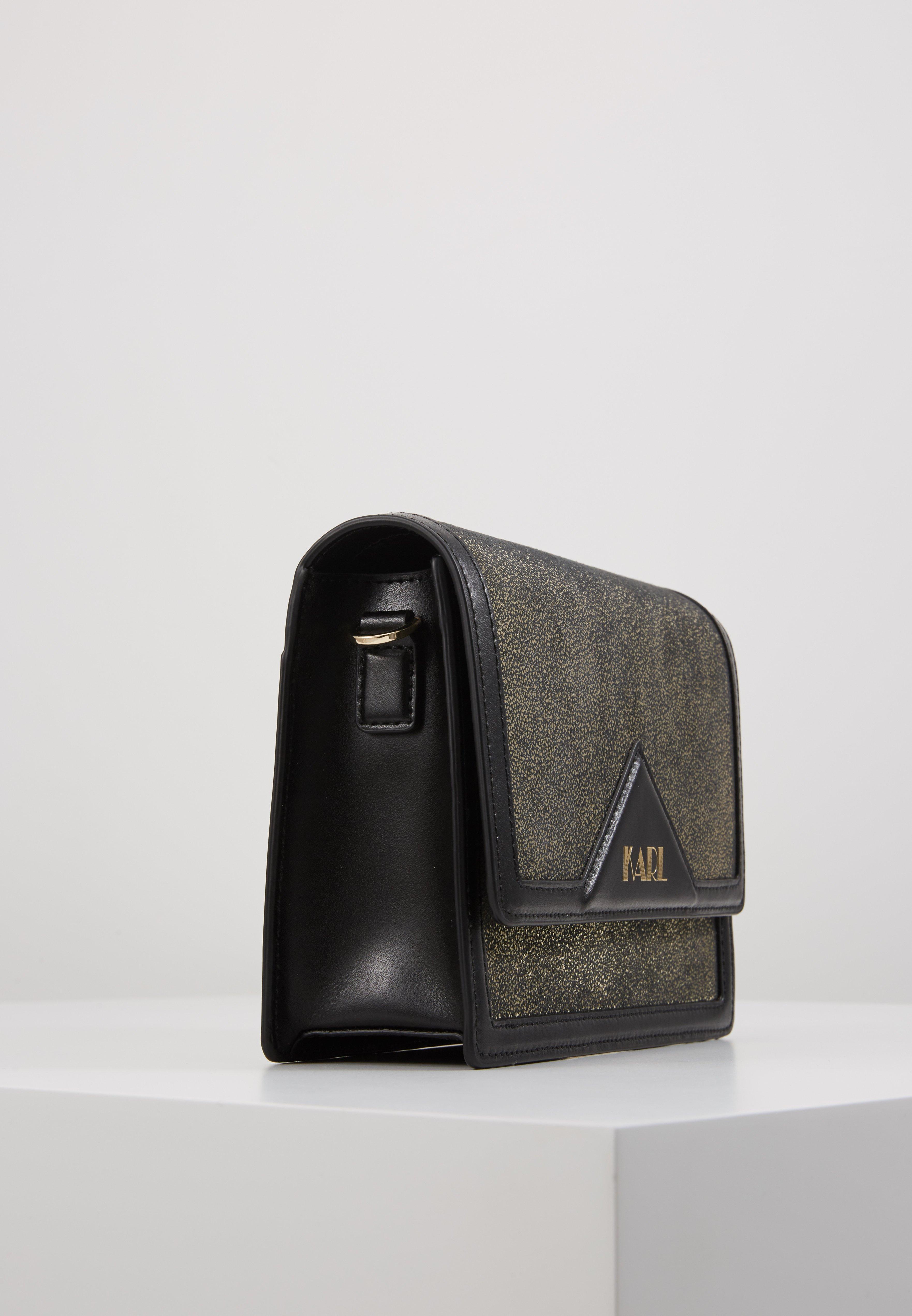 KARL LAGERFELD SHOULDER BAG - Borsa a tracolla - bronze 9nnxVOSS