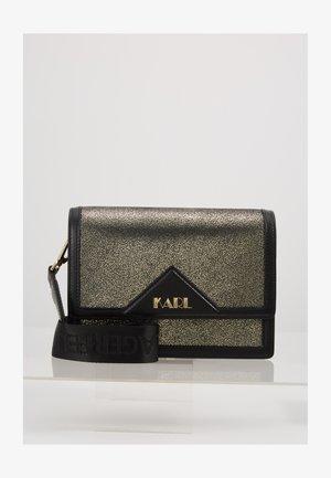 SHOULDER BAG - Taška spříčným popruhem - bronze