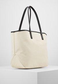 KARL LAGERFELD - IKONIK - Tote bag - natural/black - 3