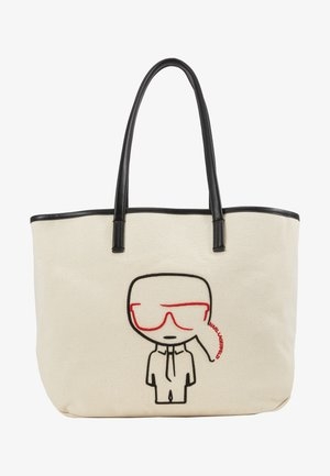 IKONIK - Shopping bag - natural/black