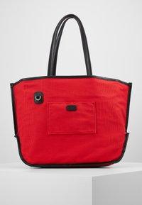 KARL LAGERFELD - IKONIK - Tote bag - natural/black - 6