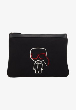 IKONIK POUCH - Laptop bag - black