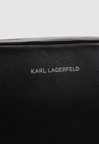 KARL LAGERFELD - STUDIO CAMERA BAG - Across body bag - black - 6