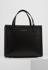 KARL LAGERFELD - SMALL TOTE - Handbag - black - 2