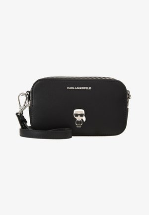 IKONIK METAL PIN CAMERA BAG - Sac bandoulière - black