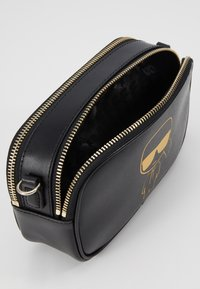 KARL LAGERFELD - CAMERA BAG - Across body bag - black - 4