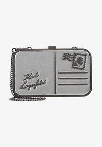 KARL LAGERFELD - POSTCARD MINAUDIERE - Pochette - silver - 1