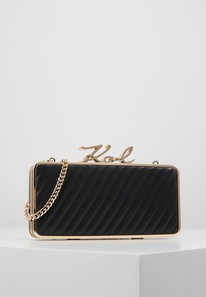 SIGNATURE LOCK MINAUDIERE - Clutch - black