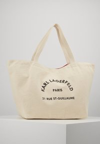 KARL LAGERFELD - RUE ST GUILLAUME TOTE - Tote bag - natural - 0
