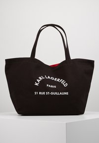 KARL LAGERFELD - RUE ST GUILLAUME TOTE - Shopper - black - 0