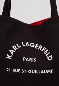 KARL LAGERFELD - RUE ST GUILLAUME TOTE - Shopper - black - 2
