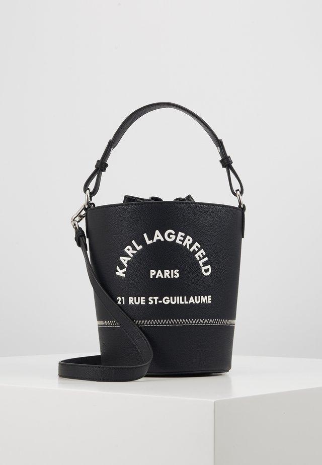 RUE ST GUILLAUME BUCKET - Handbag - black