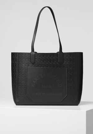 JOURNEY TOTE CAMEO - Tote bag - black